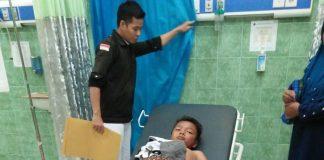 Foto: Anak yang dimangsa buaya selamat berkat ditolong ibunya (source: detikcom)